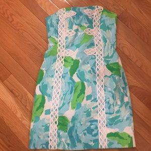 Lilly Pulitzer Blue First Impressions Tansy Dress